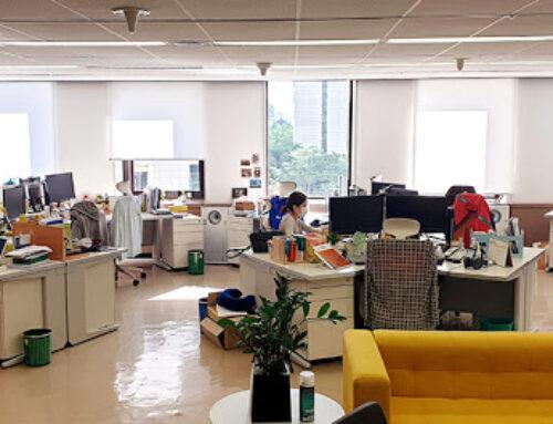 Les bureaux partagés, un complément aux bureaux d'entreprises à long terme