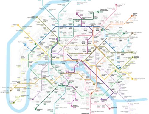 Valeurs locatives 2020 – Metro parisien
