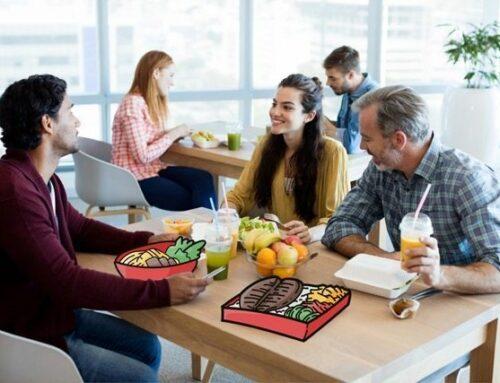 Co-working – Et si vous partagiez votre repas avec d'autres professionnels ?